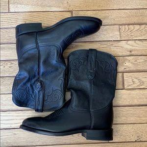 Zecuda cowboy boots size 8 like new!